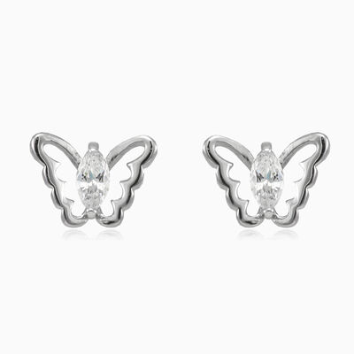 Marquise butterfly studs woman earrings Animale